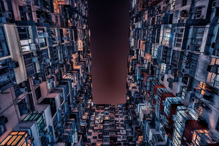 Hong Kong skycrapers