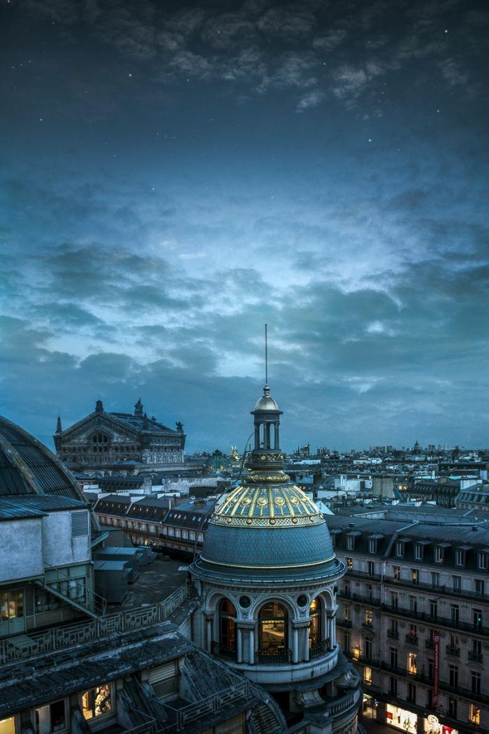 Au dessus de Paris