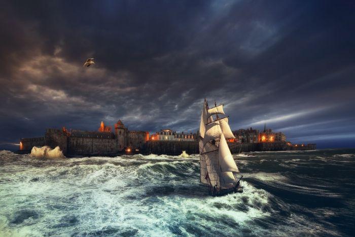 Saint-Malo Inondation