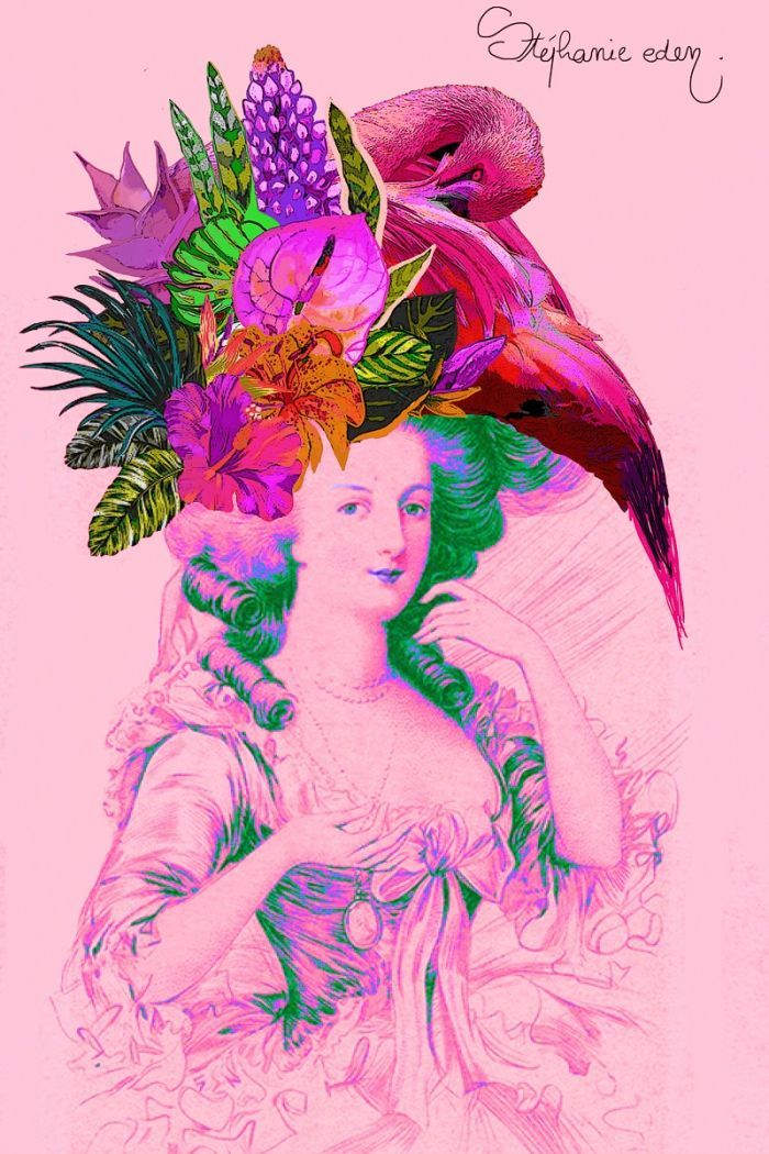 Marie Antoinette and the Swan