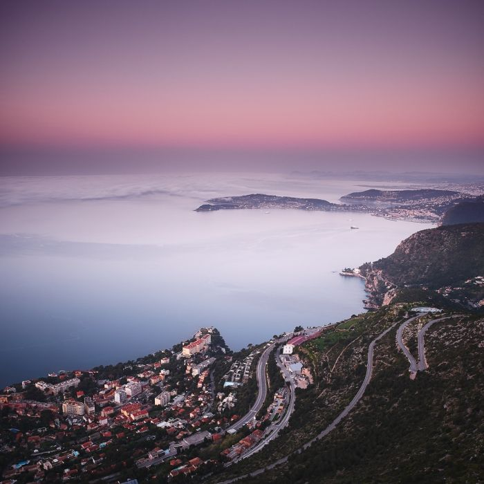 Vue sur Cap d'Ail et Saint Jean Cap Ferrat