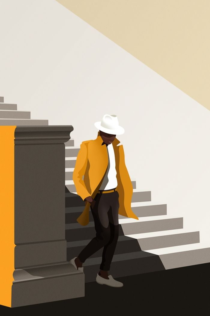 Jaquette jaune