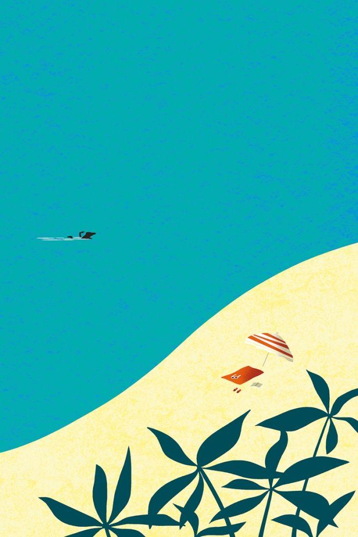 SEUL dans la mer