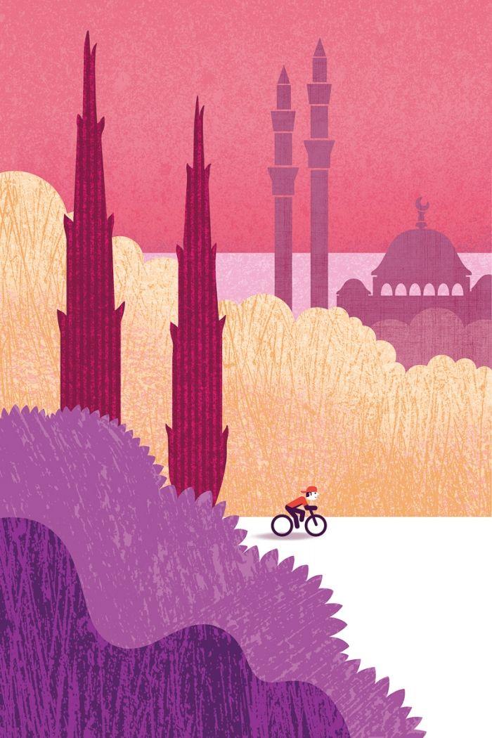 Vélo à Istanbul