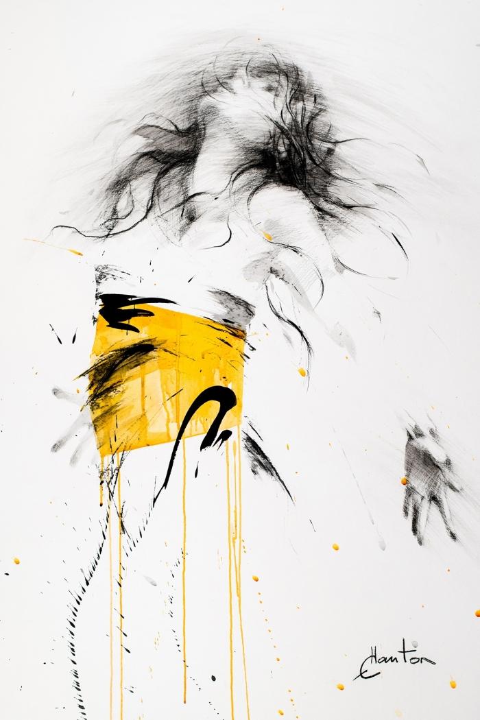 Danse, jaune