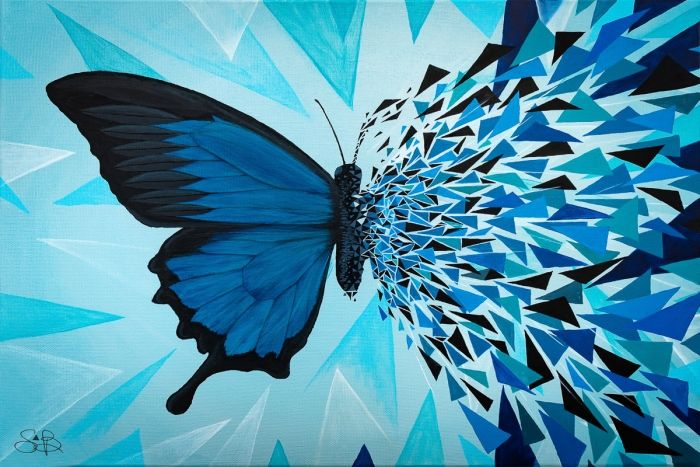 Butterfly Effect Saphir