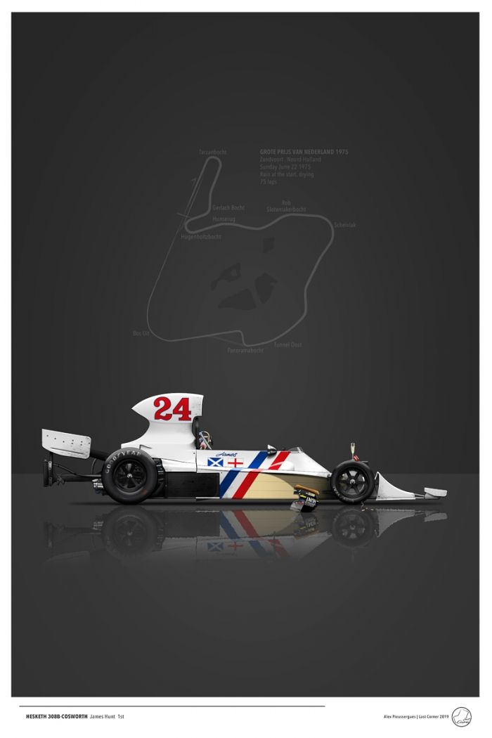 Hesketh-308B After Race