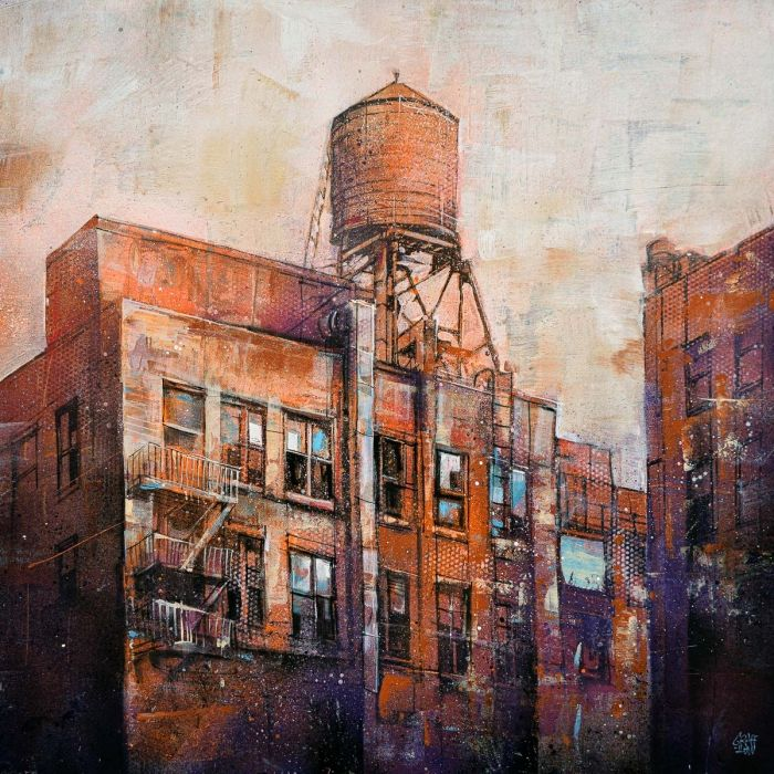 Industrial Water Tower