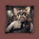 Coussin Chien Mafia - Sylvain Binet