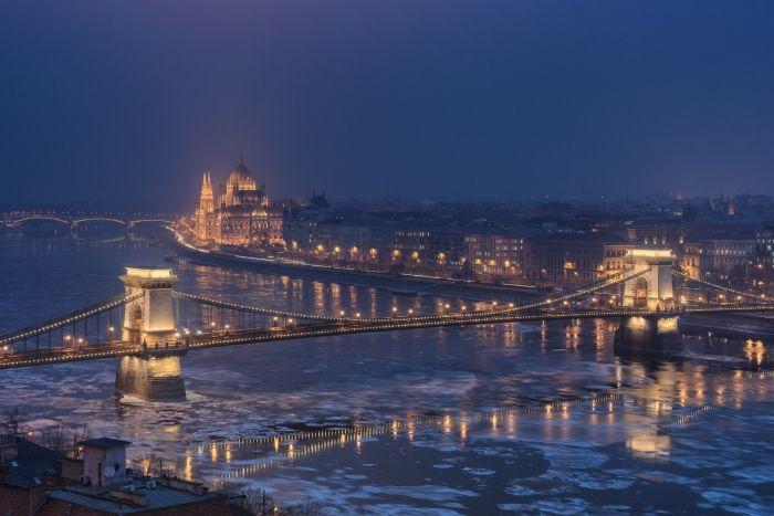 Hiver de Budapest