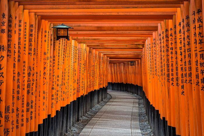 Le temple Fushimi Inari